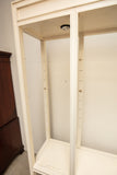 Chinese Inspired White Painted Etagere