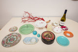 Assorted Lot of Dishes, Bauer, and Misc