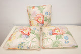 Floral Pillows Lot of 3
