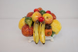 Italian Pottery Ceramic Fruit Centerpiece