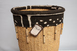 Handwoven Grass Basket