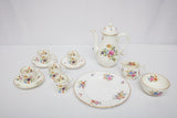 "Royal Worcester ""Roanoke"" Partial Coffee Service 12 Pieces"