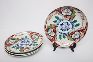 Japanese Imari Chargers Set of 4