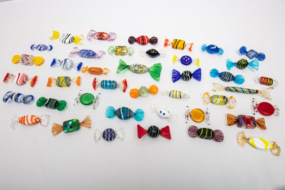 Murano Italy Candies Lot of 40