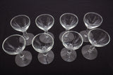 Candlewick Style Liquor Glasses Set of 8