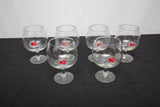 Booths London Dry Gin Promotional Balloon Gin Glass Set of 6