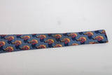 Hermes Silk Tie Blue with Palm Trees