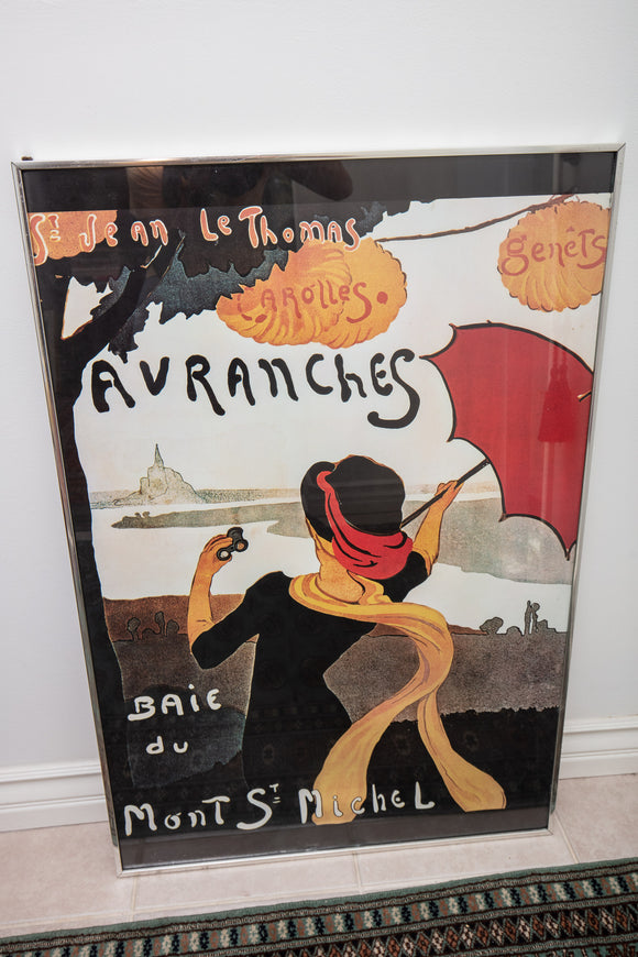 St Jean Le Thomas Carolles Avranches French Poster Reproduction