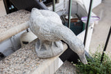 Concrete Duck Garden Art