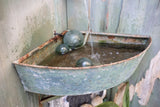 Metal Lavabo Fountain with Japanese Fish Floats