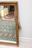 Antique Gold Gilt Mirror with Tassels