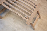 Teak Steam Lounger