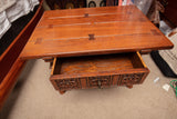 Vintage Mission Style Oak Side Table