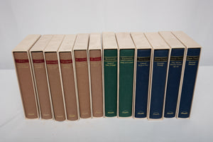 The Library of America Lot of 12 Books in Slip Covers