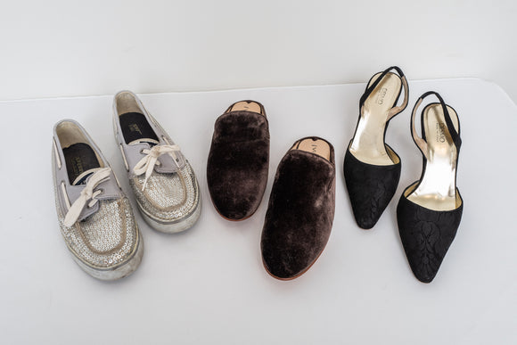 Women's Shoe Lot Including Desmo and Sperry