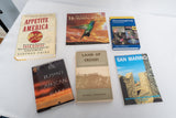 Book Lot Featuring Travel and Birds