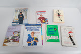 Book Lot on Cleaning and Parties