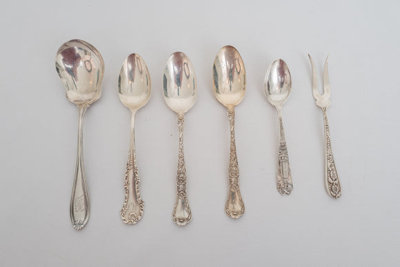 Sterling Silver Spoon and Fork Lot