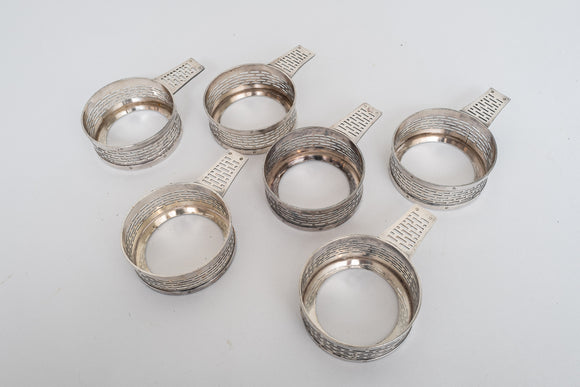 Wilcox Silverplate Ramekin Holders Set of 6