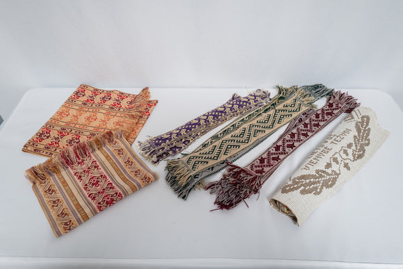 Linen Lot of Hand Made Lithuanian Textiles