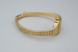 Mid Century Modern Baume & Mercier 14K Yellow Gold Ladies Watch