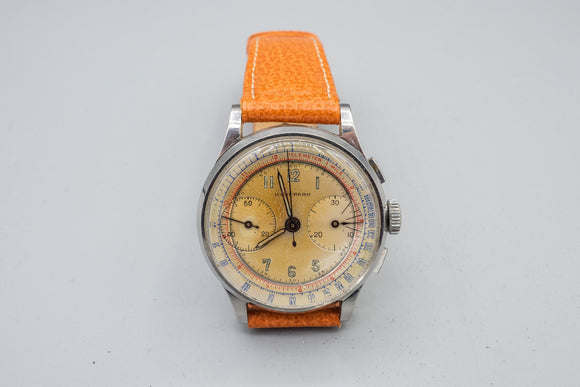 Men's Hydepark Swiss Chrono Hand Wind Mechanical Watch