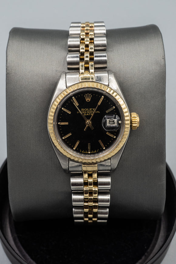 1978 Ladies Rolex Date Ref. 6917 Two-Tone 14K Gold / Stainless Watch