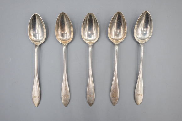 Towle Sterling Silver Demitasse Spoons Set of 5