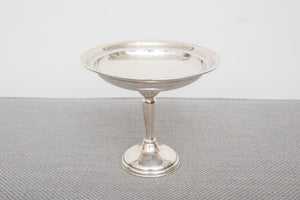 Weighted Sterling Silver Candy Compote Dish