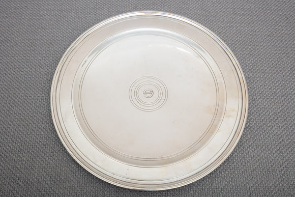 Tiffany and Company Sterling Silver Art Deco Cake Stand Plate