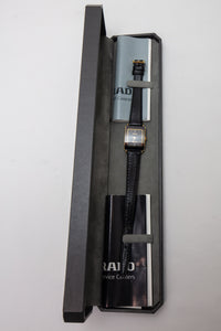 Rado Florence Black Gold Woman's Watch in Box