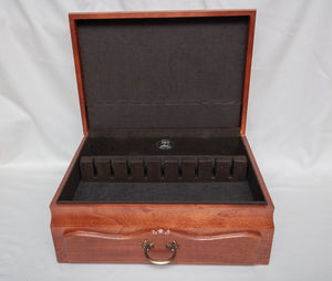 Eureka Silver Chest with Drawer and Silver Cloth