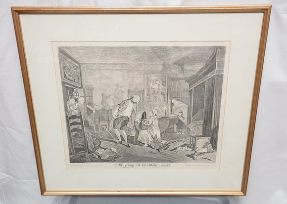 Antique Hogarth Etching
