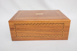 Decatur Industries Walnut Inlay Humidor Box