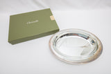 Christofle Paris Silverplate Malmaison Oval Vegetable Bowl in Box