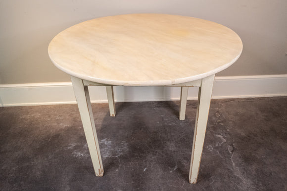 Danish Pine Table Painted Off White