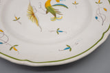 Aux Grotesques Hand Painted Bird Plate