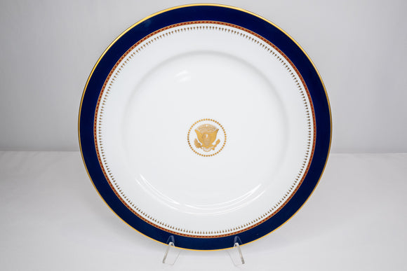 Presidential Ronald Reagan White House China Service Fitz & Floyd Charger Plate
