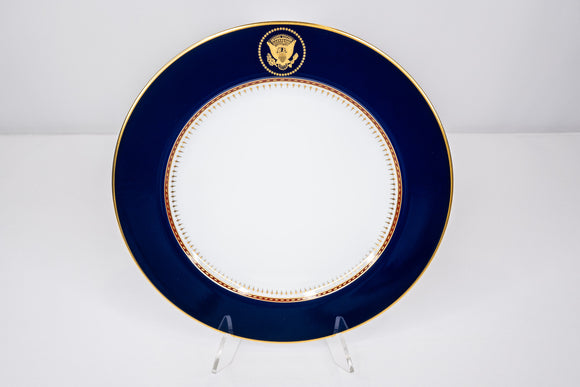 Presidential Ronald Reagan White House China Service Fitz & Floyd Luncheon Plate