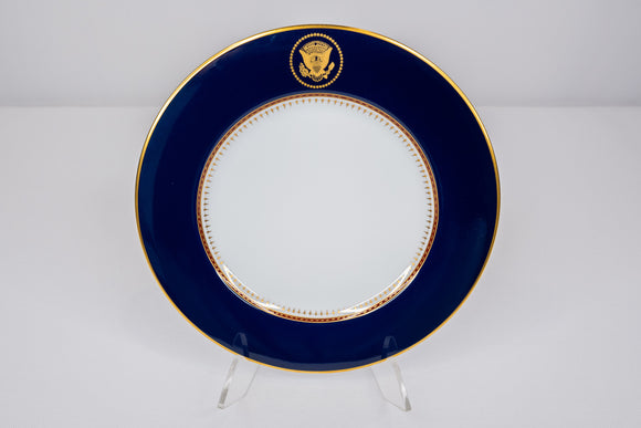 Presidential Ronald Reagan White House China Service Fitz & Floyd Salad Plate