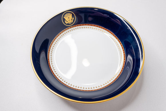 Presidential Ronald Reagan White House China Service Fitz & Floyd Fruit Bowl
