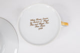 Presidential Ronald Reagan White House China Service Fitz Floyd Tea Cup & Saucer