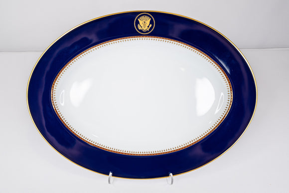 Presidential Ronald Reagan White House China Service Fitz & Floyd 1983 Platter