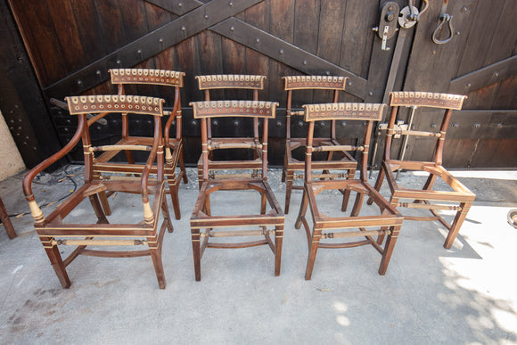 Tunis Chair Frames Set of 7
