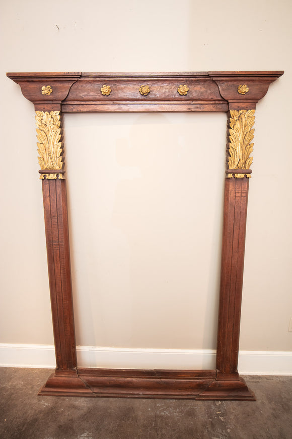 Large Empire Gold Gilt Frame for Mirror