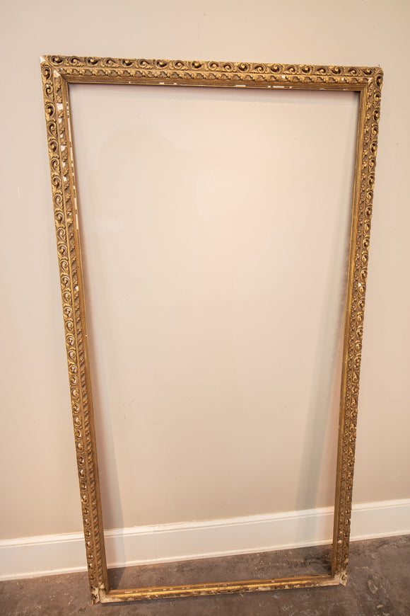 Large Gold Tone Frame for Project