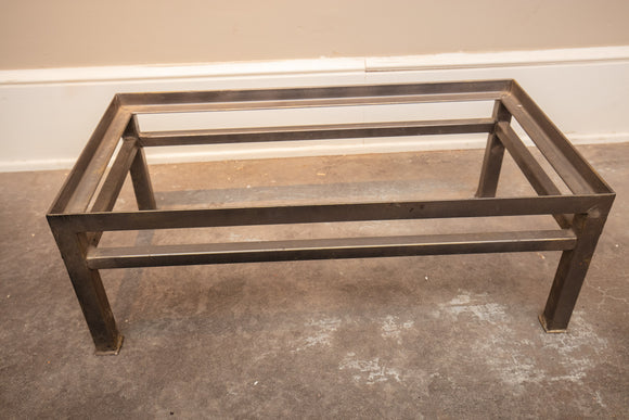Grey Metal Trunk Stand Base