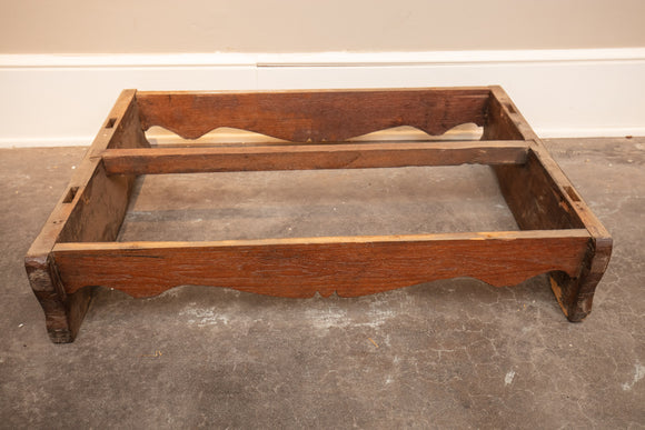 Wood Trunk Stand Base, Vintage