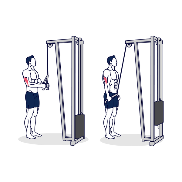 Cable Rope Pushdown Illustration