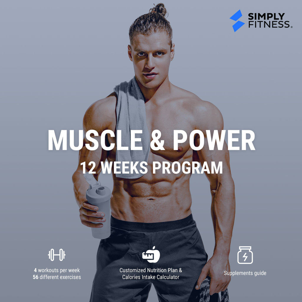 MUSCLE & POWER - 12 Week Program